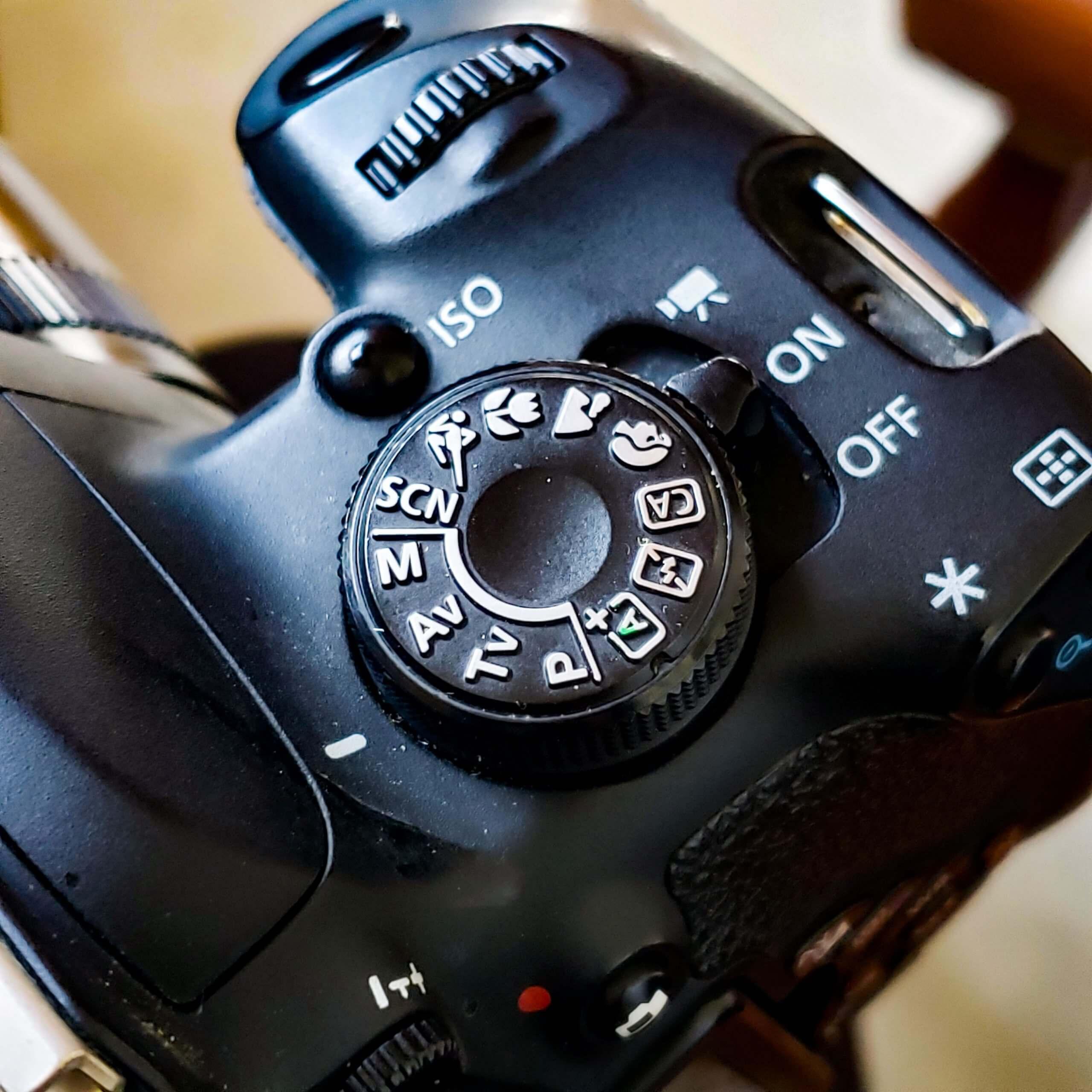 Các chế độ chụp trên Canon