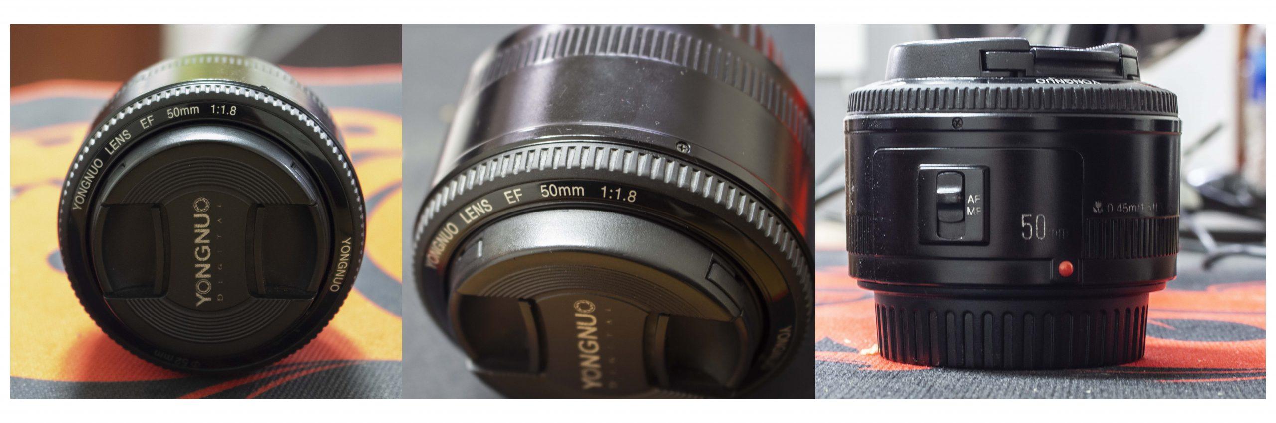 Chiếc lens fix giá rẻ Youngou 50mm f1.8