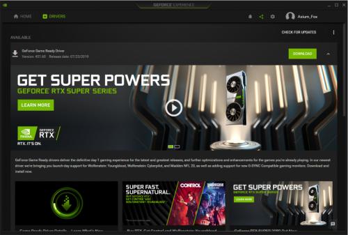 Update Driver GPU cho máy tính