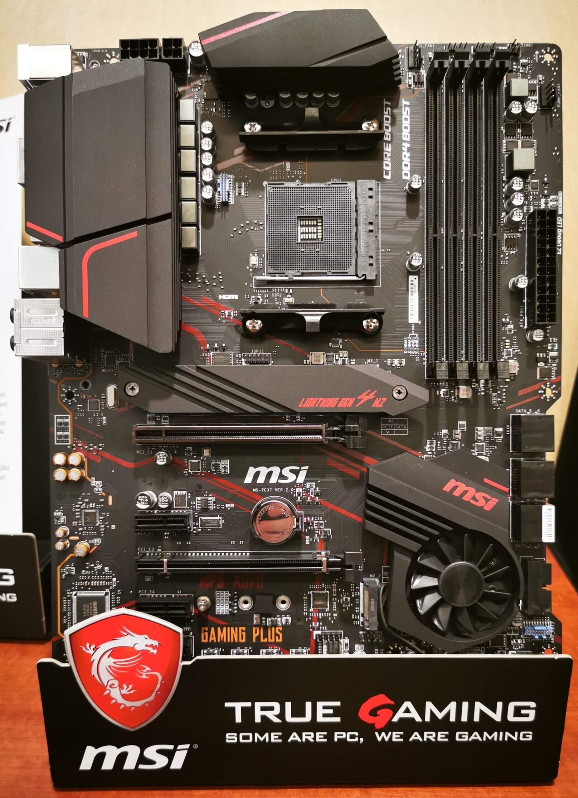 Mainboard MSI MPG X570 Gaming Plus