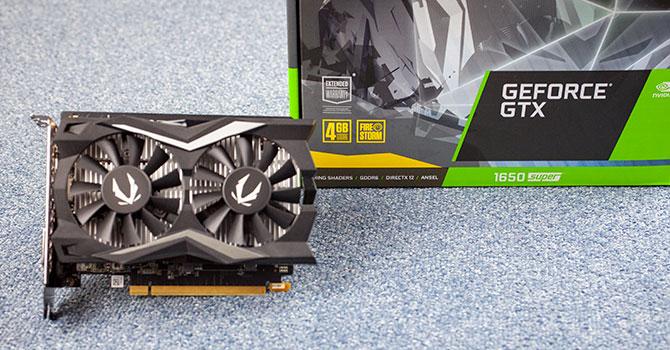 GTX GeForce 1650 Super