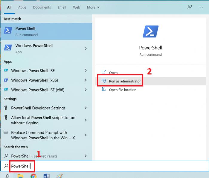 Đăng ký lại Microsoft Edge