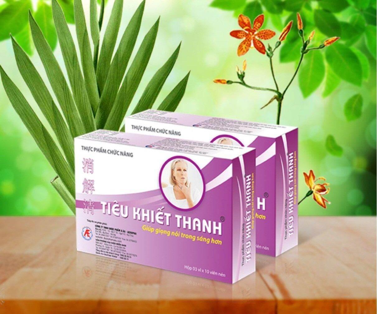 Dùng sản phẩm đúng cách để phòng và chữa viêm thanh quản