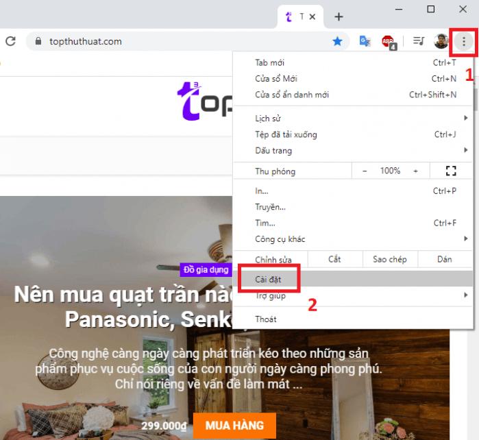 Bật/tắt công cụ kiểm tra chính tả của Chrome
