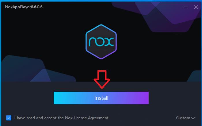 Các bước cài đặt Nox App Player