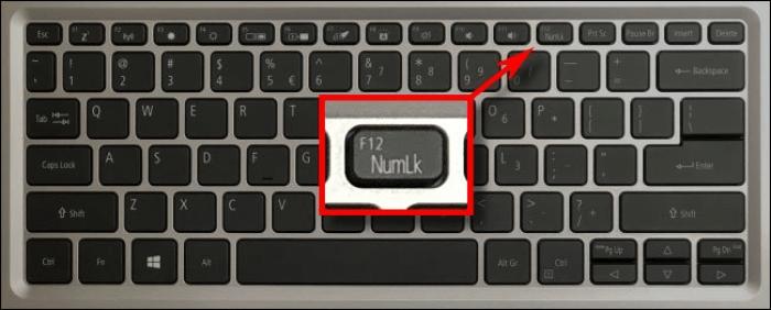 sửa lỗi gõ chữ thành số trên laptop
