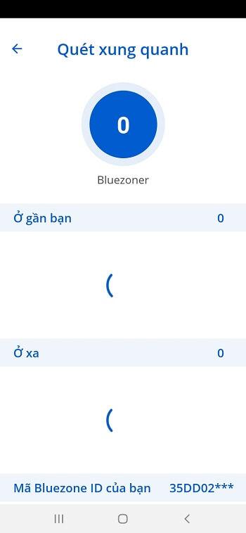 Bluezone đối chiếu thông tin qua lịch sử tiếp xúc