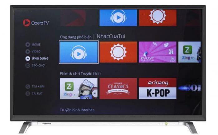 Chặn quảng cáo đối với hệ thống Smart Tivi Toshiba
