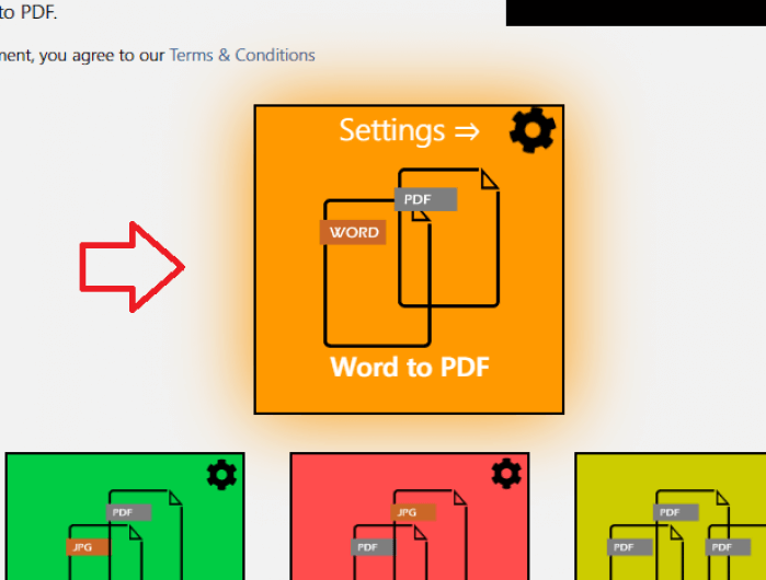 công cụ online để chuyển file Word sang PDF