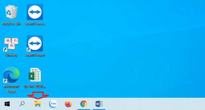 mở Windows File Explorer bằng tổ hợp phím Win + E