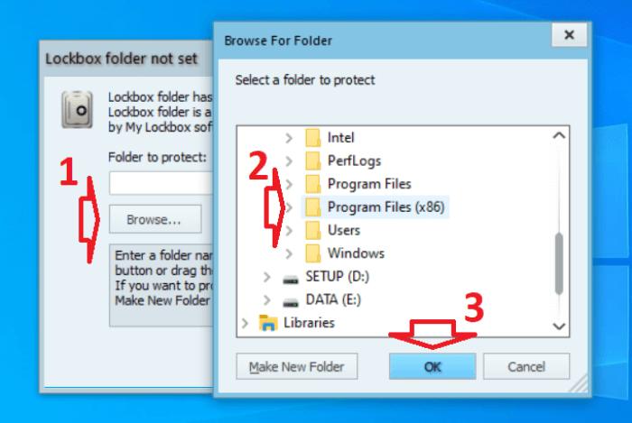 đặt mã bảo vệ cho ứng dụng bất kì trong máy tính