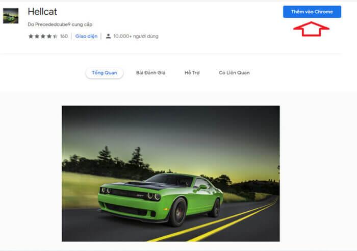 cài đặt giao diện mới cho Chrome