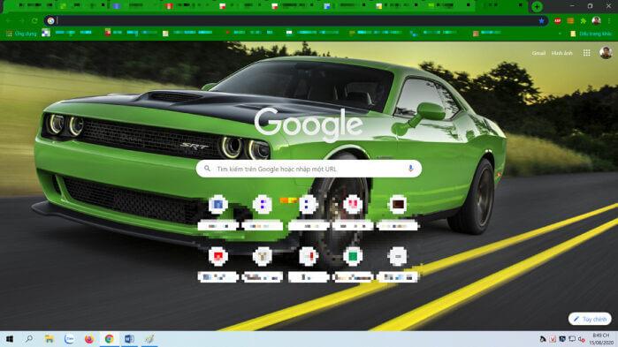giao diện đẹp mắt.cho Chrome