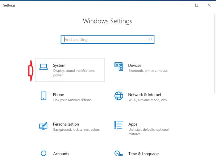 Mở Windows Settings bằng cách nhấn Windows + I