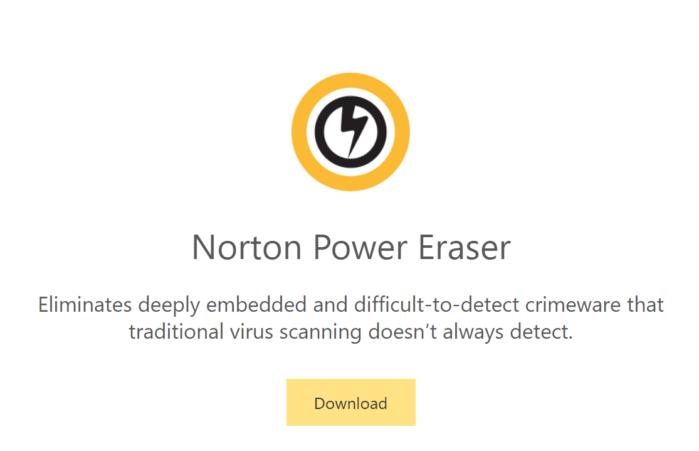 trình quét vi-rút mạnh mẽ Norton