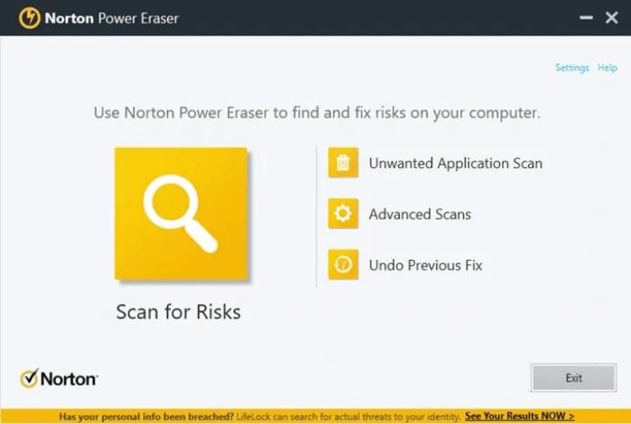 Đặc điểm của trình quét vi rút Norton