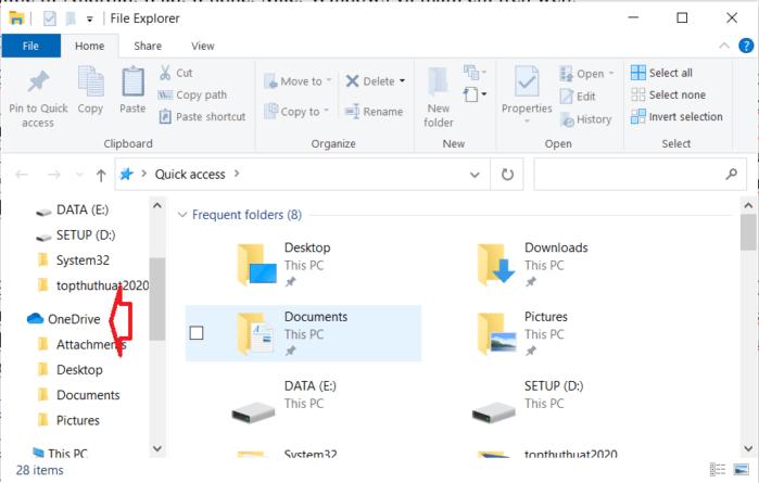 OneDrive là một phần mềm được cài đặt sẵn