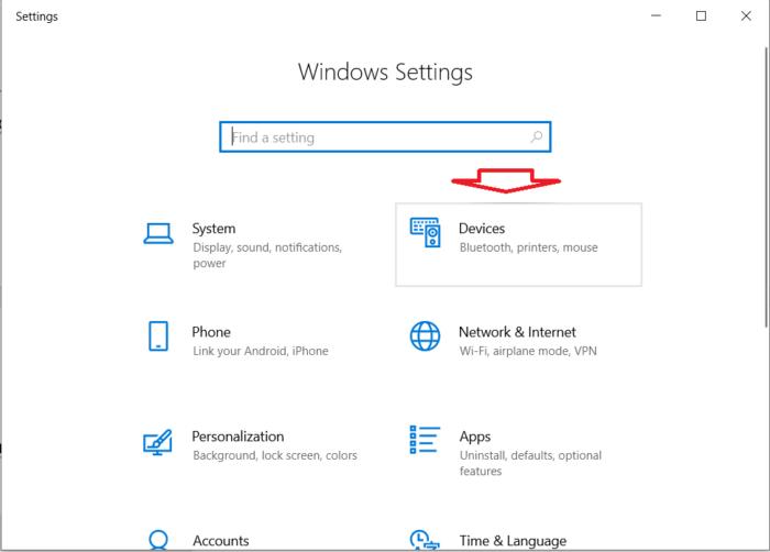 nhấn kết hợp Windows + I để mở Windows Settings