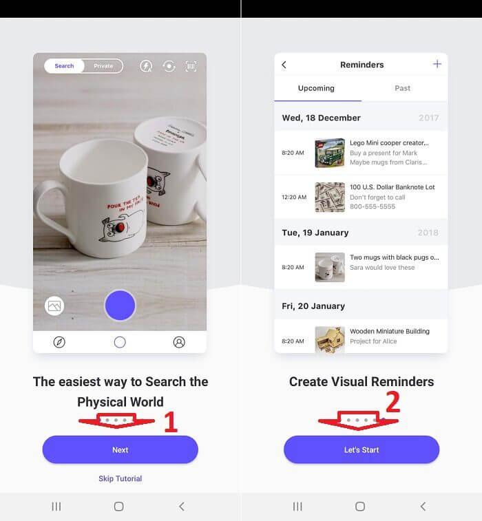 Cách sử dụng CamFind tìm kiếm bằng hình ảnh