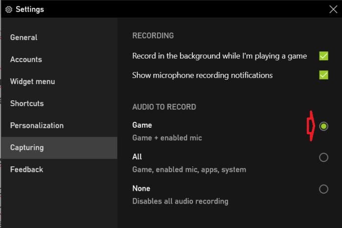 không muốn ghi bất kỳ loại âm thanh nào trong video