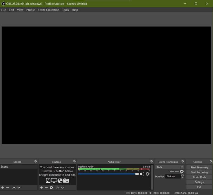 tải và cài đặt phần mềm OBS Broadcaster