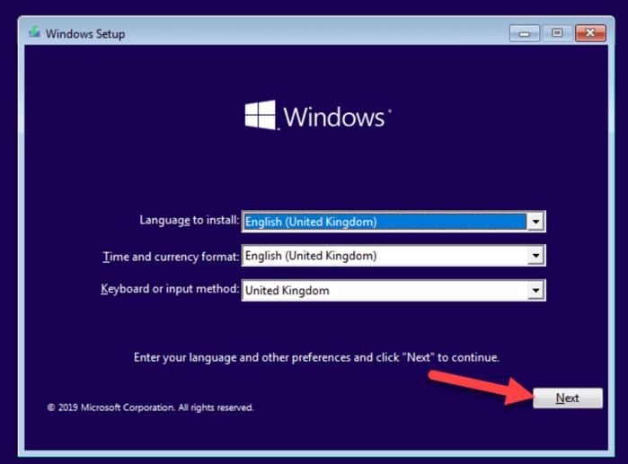 Chế độ Safe Mode qua ổ cài đặt Windows 10