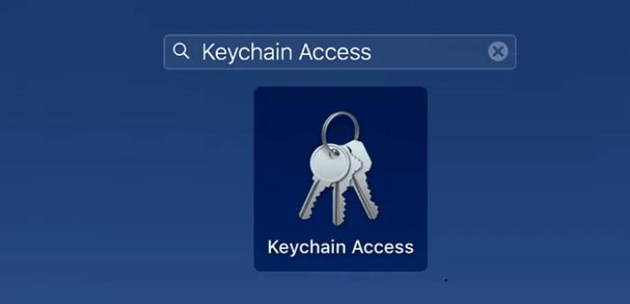 Sử dụng quyền truy cập Keychain