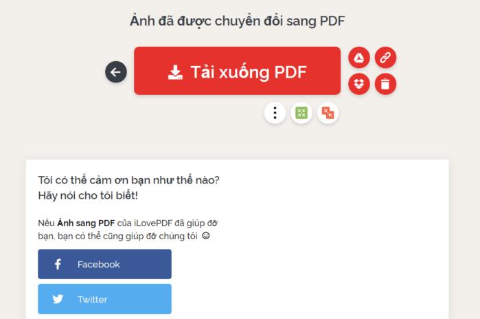 giữ file trong thư mục Google Drive hoặc Dropbox