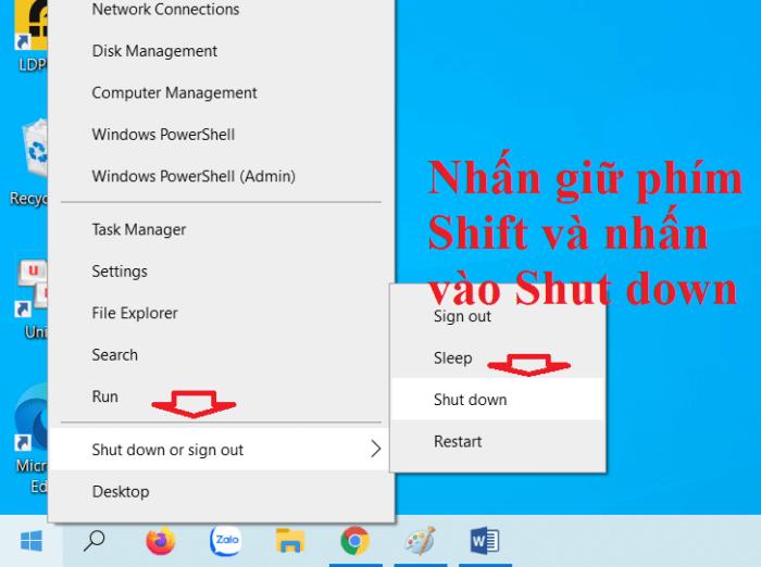 khởi động máy tính vào chế độ Safe Mode