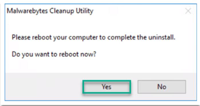 Gỡ cài đặt Malwarebytes Anti-Malware