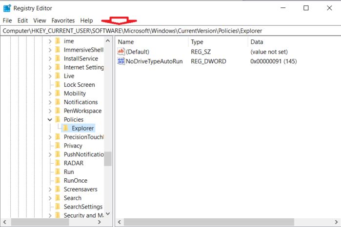 Khóa phím Windows bằng Registry