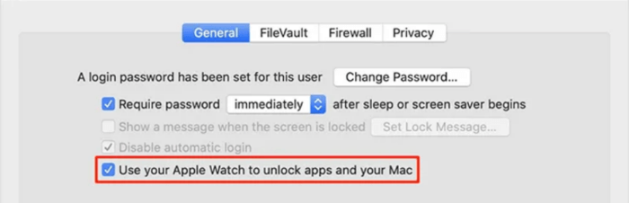 nội dung Use your Apple Watch to unlock apps and your Mac