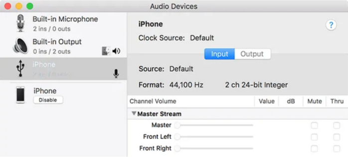 tính năng iphone làmb vào âm thanh đã được kích hoạt