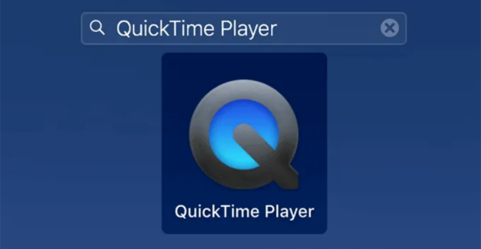 Ghi âm thanh iPhone bằng QuickTime