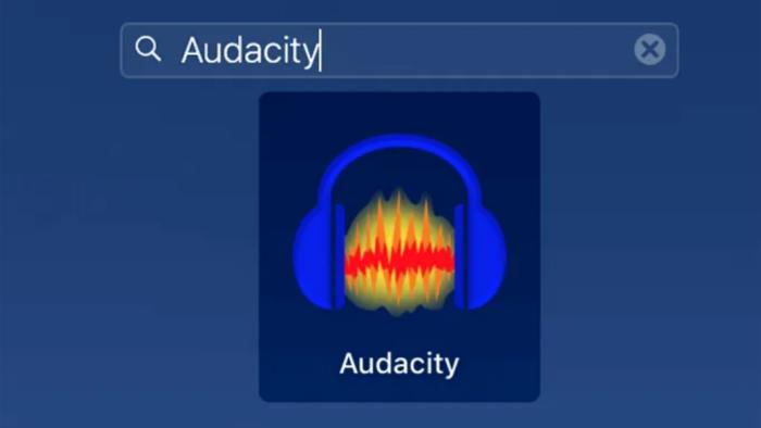 Ghi âm thanh iPhone bằng Audacity