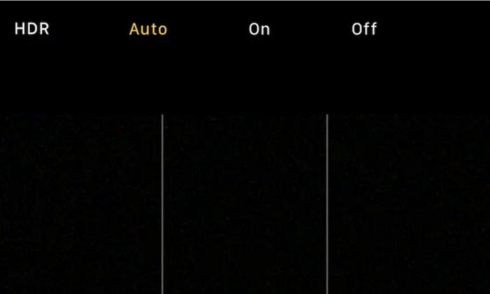 Cách bật HDR trên camera iPhone