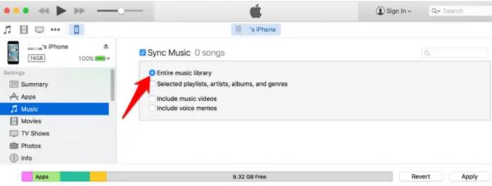 Đồng bộ hóa toàn bộ thư viện nhạc trên iTunes