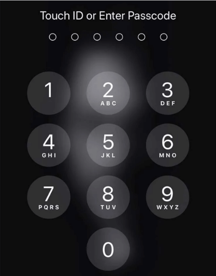 Make sure your iPhone is unlocked