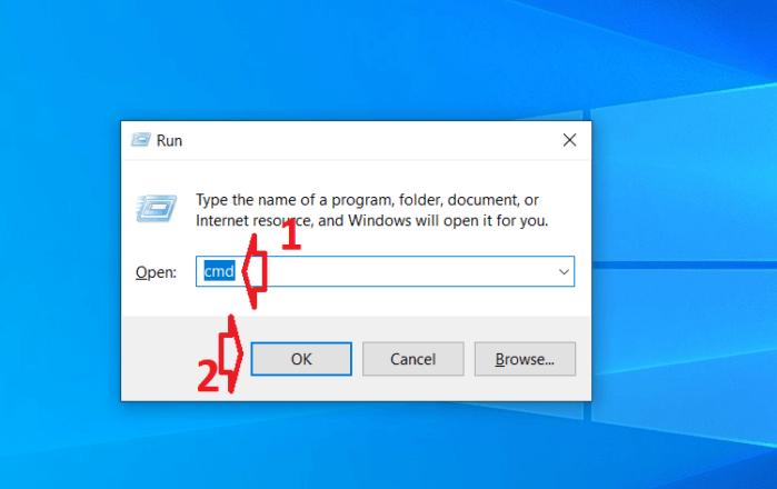 Mở cửa sổ Run bằng phím tắt
