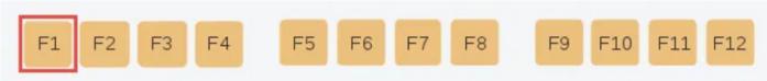 Chức năng của phím F1