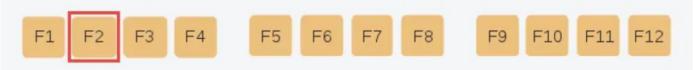 Chức năng của phím F2