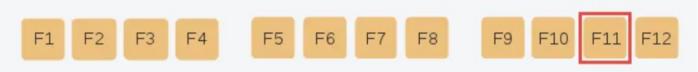 Chức năng của phím F11