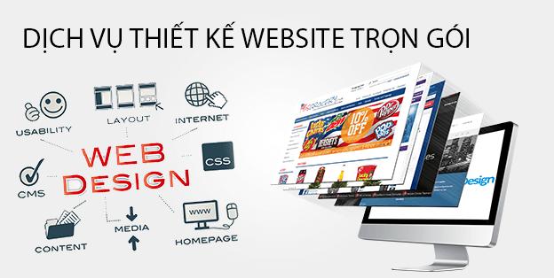 Thiết kế website trọn gói chuyên nghiệp chi phí hấp dẫn