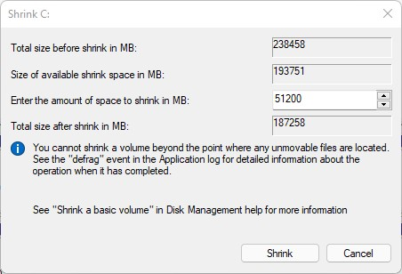 disk management windows 11