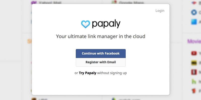 Quản lý đánh dấu trang hiệu quả trên Chrome/Firefox với Papaly