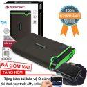 Ô cứng di động siêu tốc USB 3.0 Transcend 1TB M3 - Phân phối bởi FPT/SPC/diepkhanh