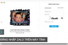 Cách đăng nhập tài khoản Zalo trên máy tính Windows, Mac