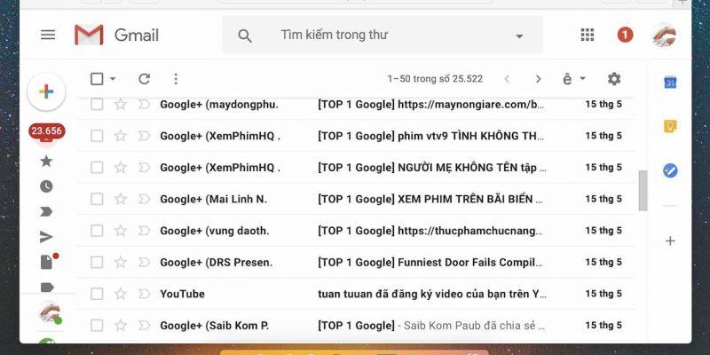 Google cho dùng thử giao diện mới và tính năng tự huỷ cho Gmail