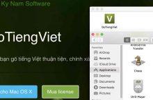 Bộ Gõ Tiếng Việt ra mắt bản cập nhật mới dành cho macOS