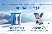 [QC] Săn Honor 9 Lite, Honor 7X giá cực tốt tại Lazada và Shopee